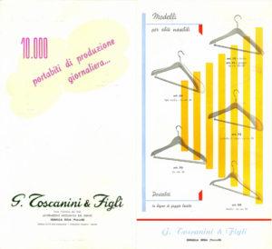 1956, copertina del catalogo Toscanini